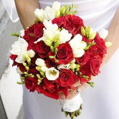 Магазин цветов Lia Букет «Огонек»