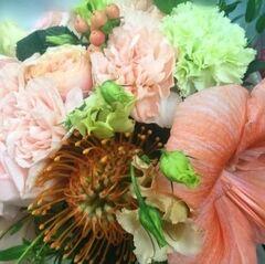 Магазин цветов Прекрасная садовница Букет с амариллисом