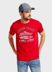 Кофта, рубашка, футболка мужская O'stin Футболка с принтом MT1U63-14