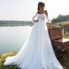 Свадебный салон Aivi Свадебное платье Eipril (New Collection)