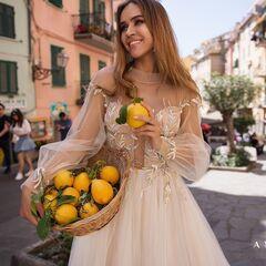 Свадебный салон Ange Etoiles Платье свадебное Ali Damore Ivona