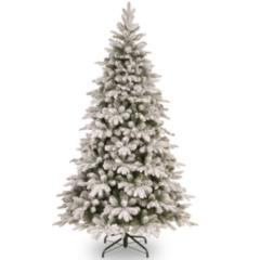 Елка и украшение National Tree Company Ель искусственная «Snowy Everest», 2.13 м