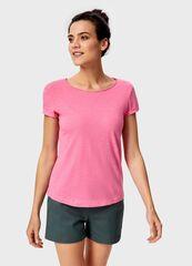 Кофта, блузка, футболка женская O'stin Базовая  футболка из хлопка LT6UA1-X3