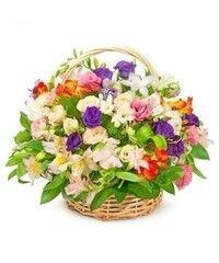 Магазин цветов Cvetok.by Цветочная корзина «Цветочная феерия»