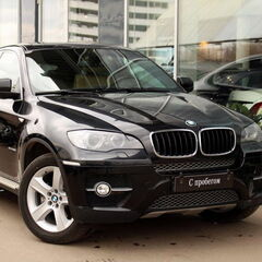 Прокат авто Прокат авто с водителем, BMW X6 3.0D 2010 г. (с водителем)