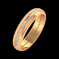 Ювелирный салон ZORKA Обручальное кольцо 1D4047