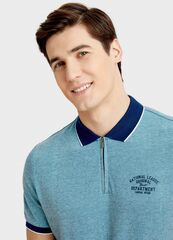Кофта, рубашка, футболка мужская O'stin Поло с молнией MT4S76-42