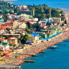 Туристическое агентство ТиШ-Тур Пляжный автобусный тур в Украину, Железный Порт, база отдыха «Радуга»