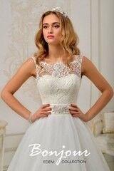 Свадебный салон Bonjour Свадебное платье «Leya» из коллекции EDEM 2016