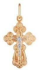 Ювелирный салон Русские самоцветы Крест золотой 66156