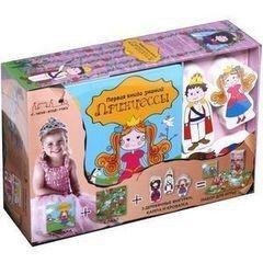 Игрушка и игра Махаон Развивающая игра «Первая книга знаний. Принцессы»