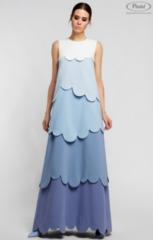 Платье женское Pintel™ Комбинированное платье А-силуэта JUVINIANKA BS