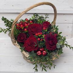 Магазин цветов Долина цветов Корзина «Наоми»