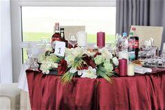 Магазин цветов Lia Композиция на стол (пышная малая)