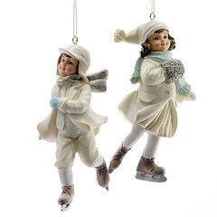 Елка и украшение mb déco Елочные игрушки «Дети на коньках» в ассортименте