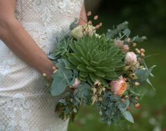 Магазин цветов Цветочница Букет невесты №10