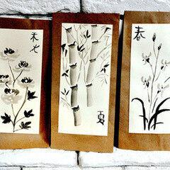 23 февраля Семейный центр Катерины Ковровой Сертификат на Мастер-класс «Японская живопись Суми-Э»