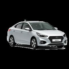Прокат авто Прокат авто Hyundai Solaris 2017 Серебристый