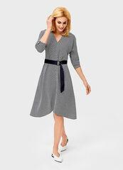 Платье женское O'stin Платье женское с принтом «подковы» LR1V42-68