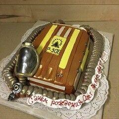 Торт МЕГАТОРТ Торт «Кусто бы заценил»