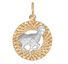 Ювелирный салон Sokolov Подвеска «Знак зодиака Овен» 031377