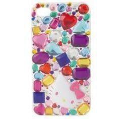 Кошелек, визитница, чехол Sanrio Чехол для Iphone 4 с украшением «Hello Kitty» 526894