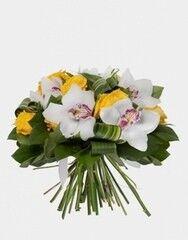 Магазин цветов Florita (Флорита) Букет «Нежность» из орхидей