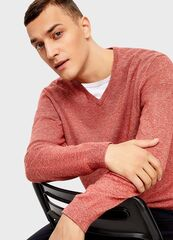Кофта, рубашка, футболка мужская O'stin Джемпер с V-вырезом мужской MK6U13-R7