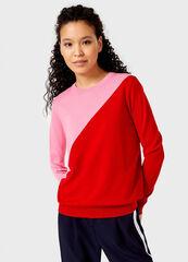Кофта, блузка, футболка женская O'stin Джемпер женский с цветовыми блоками LK6V33-X3