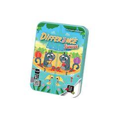 Магазин настольных игр Gigamic Настольная игра «Difference Junior» («Дифферанс для детей»)