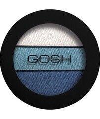 Декоративная косметика GOSH Тени трехцветные Eyelight Trio - 004 Vanilla Sky New