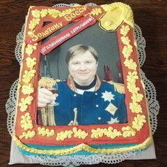 Торт МЕГАТОРТ Торт «Золотому боссу»