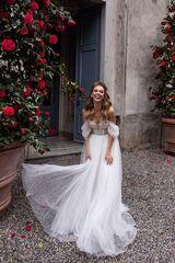 Свадебное платье напрокат А-силуэт Daria Karlozi Свадебное платье Adele