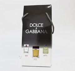 Парфюмерия Dolce&Gabbana Подарочный набор Men, 3х25