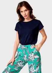 Кофта, блузка, футболка женская O'stin Базовая футболка из хлопка женская LT6U81-68