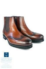 Обувь мужская HISTORIA Ботинки мужские, челси, рыжие