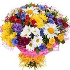 Магазин цветов Florita (Флорита) Букет поздравительный «Летний»