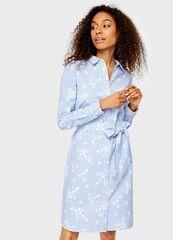 Платье женское O'stin Платье-рубашка в полоску LR4U52-61