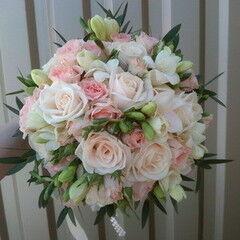 Магазин цветов Lia Букет «Свадебный-1»