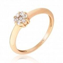 Ювелирный салон Jeweller Karat Кольцо золотое с бриллиантами арт. 1213367