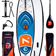 Летний товар SUP Доска D7 9'6 Surf 2019