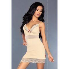 Интим-магазин Livia Corsetti Роскошная кремовая сорочка Lourdes L/XL арт. 90244L/XL