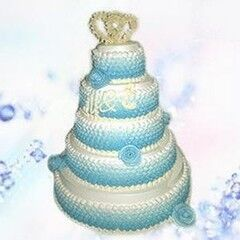Торт Милано Свадебный торт №6