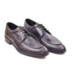 Обувь мужская HISTORIA Туфли дерби синие Sh.Bl.72871