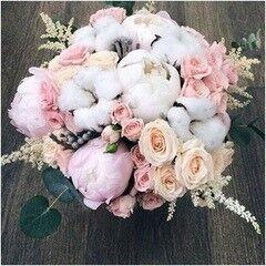 Магазин цветов LION Свадебный букет «Алеандро»