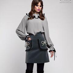 Костюм женский Pintel™ Комплект из блузы и юбки Helmi
