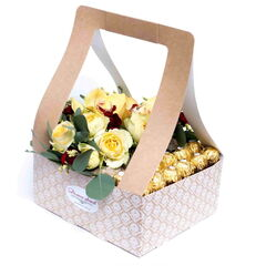 Магазин цветов Долина цветов Цветочная композиция «Сладкое наслаждение»