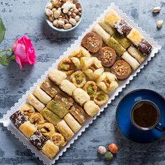 Подарок на Новый год Pate D`or Ливанские сладости ассорти «Оронт», 600 гр