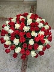 Магазин цветов Cvetok.by Цветочная корзина «Юбилейная»