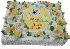 Торт Tortiki.by Торт «Жемчужная волна» 10 кг арт. К-2-2-10